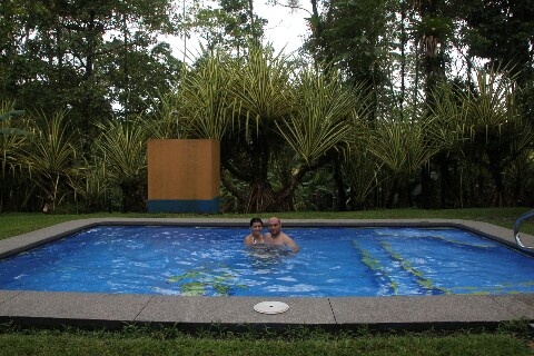 Piscina Cerro Chato Ecolodge