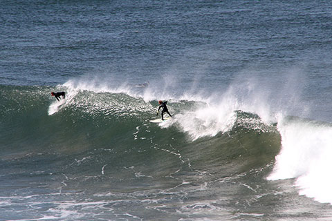 Surf en Bells Beach